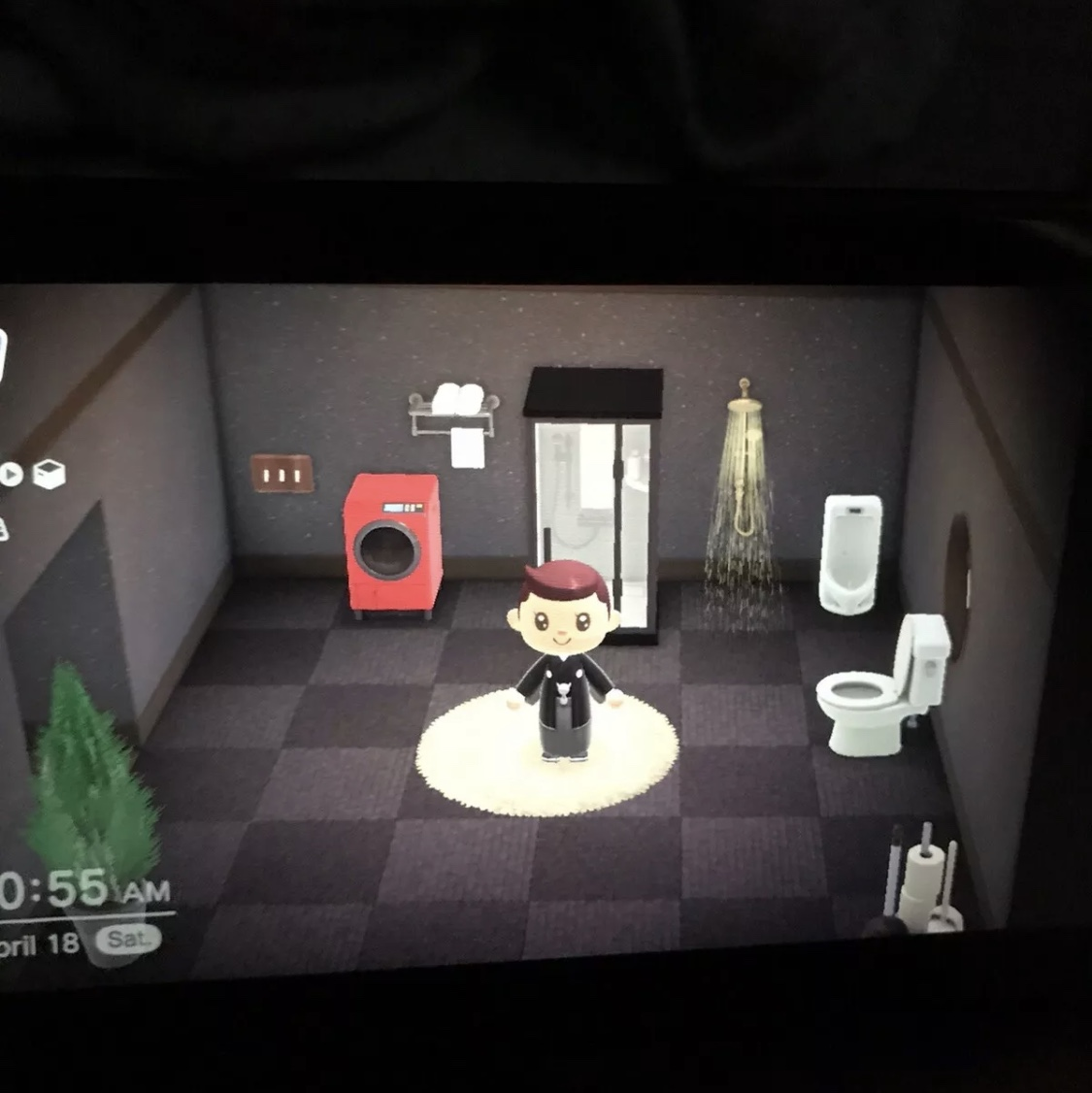 Animal Crossing New Horizons Luxury Bathroom Furniture Bells