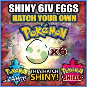 Bundle | PICK ANY 6 SHINY EGGS