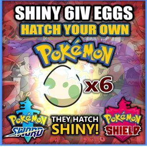 Bundle   ANY 6 SHINY EGGS