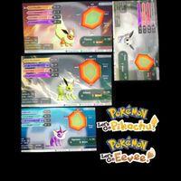 Bundle | Eevee Evolution Shiny Bundle Pack