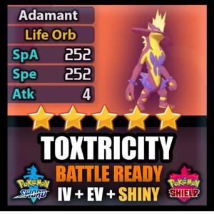 Toxtricity | SHINY BATTLE READY