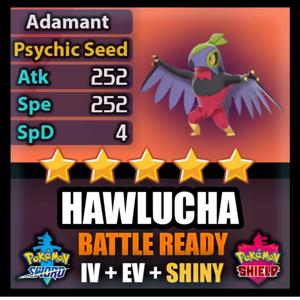 Hawlucha | 6iv SHINY BATTLE READY