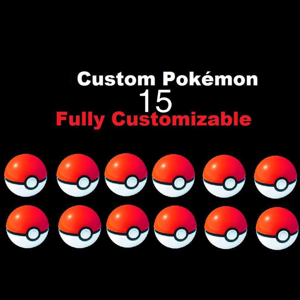 Meltan | 15 Custom Pokémon bundle pack