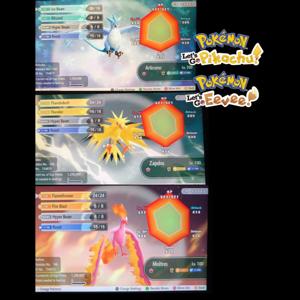 Bundle | The 3 legendary birds Shiny Bundle Pack
