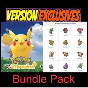 Bundle | Pikachu Bundle Exclusive Pokemon