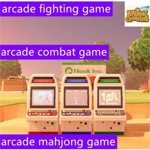 Animal Crossing New Horizons Arcade Game Set Items Furnitures