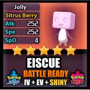 Eiscue | SHINY BATTLE READY