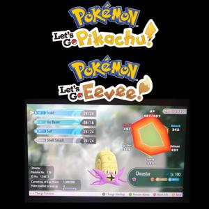 Event Pokemon | Pokémon let's go