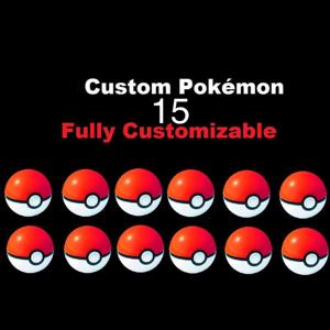 Mew | 15 Custom Pokémon bundle pack