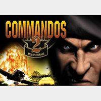 Commandos 2: Men of Courage Steam CD Key