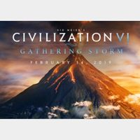 Sid Meier's Civilization VI: Gathering Storm Europe Steam CD Key