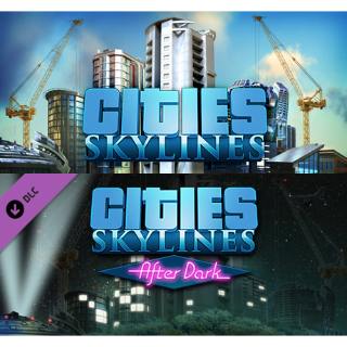 Cities Skylines + After Dark DLC (STEAM) - [INSTANT DELIVERY]