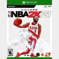NBA 2K21 (Xbox One) - Xbox Live Key - UNITED STATES