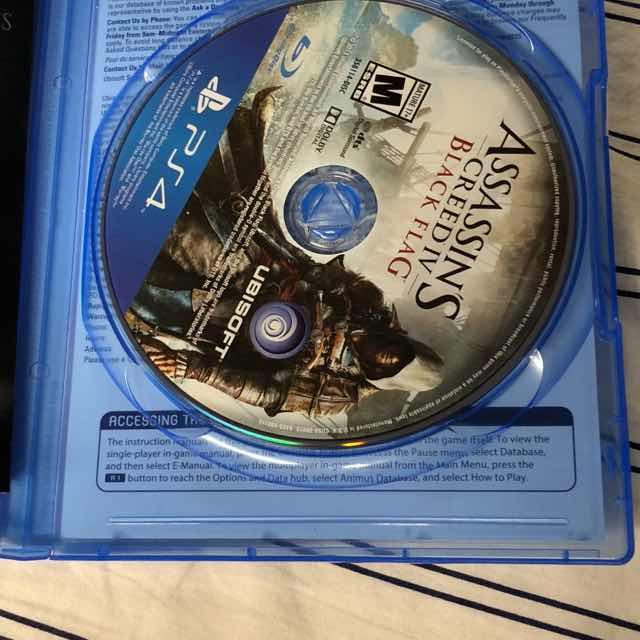 Assassins Creed Black Flag PS4 - PS4 Games (Like New) - Gameflip