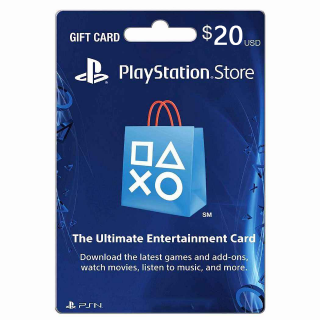 PlayStation Store $20.00 PSN USA (Instant Delivery)
