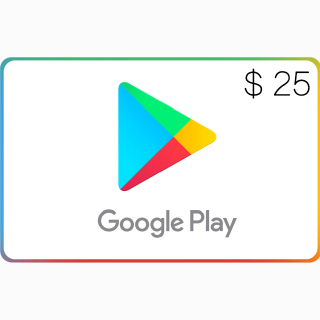 Google Play $25.00 USA (Instant Delivery)