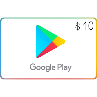 Google Play $10.00 USA (Instant Delivery)
