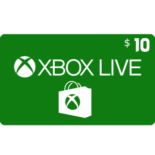 Xbox Gift Card $10.00 USA (Instant Delivery)