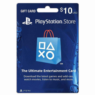 PlayStation Store $10.00 PSN USA (Instant Delivery)
