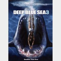 Deep Blue Sea 3 (2020) HDX MA Instant Delivery