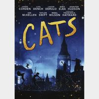 Cats (2020) HDX MA Instant Delivery