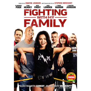 Fighting with My Family (2019) HD Instant Delivery MA via iTunes ONLY