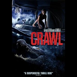 Crawl (2019) HDX Instant Delivery MA via Vudu, iTunes, Fandango