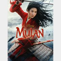 Mulan (2020) HDX MA Instant Delivery