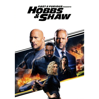 Fast & Furious Presents: Hobbs & Shaw (2019) HDX MA Instant Delivery