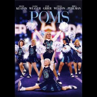 Poms (2019) HD Instant Delivery MA via iTunes