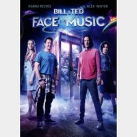 Bill & Ted Face the Music (2020) SD Instant Delivery Vudu ONLY