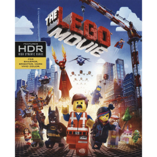 The Lego Movie (2014) 4K MA Instant Delivery