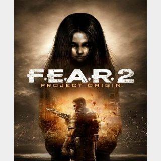 F.E.A.R. 2: Project Origin (FEAR) Steam Key GLOBAL