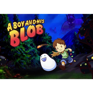 A Boy and His Blob Steam Key GLOBAL
