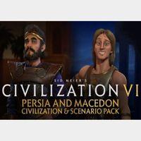 Sid Meier's Civilization VI - Persia and Macedon Civilization + Scenario Pack Steam Key GLOBAL