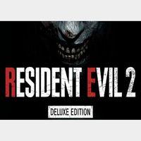 Resident Evil 2 Biohazard RE:2 Deluxe Edition Steam Key GLOBAL