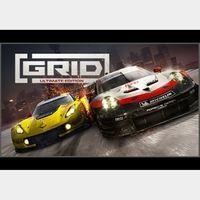 GRID - Ultimate Edition Steam Key GLOBAL
