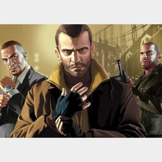 Grand Theft Auto IV GTA - Complete Edition Rockstar Social Club Key GLOBAL