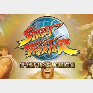 Street Fighter - 30th Anniversary Collection Steam Key GLOBAL