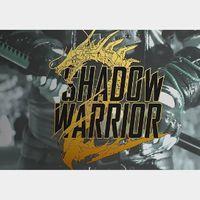 Shadow Warrior 2 - Deluxe Steam Key GLOBAL