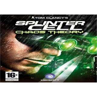 Tom Clancy's Splinter Cell Chaos Theory Uplay Key GLOBAL