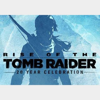 Rise of the Tomb Raider - 20th Anniversary Edition Steam Key GLOBAL
