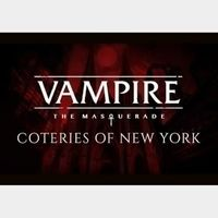 Vampire: The Masquerade - Coteries of New York Steam Key GLOBAL
