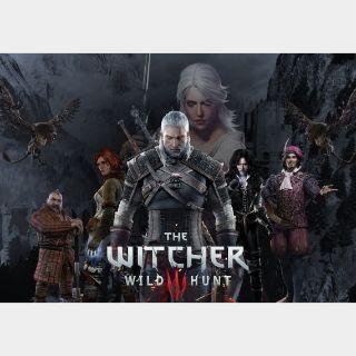 The Witcher 3: Wild Hunt GOG Key GLOBAL