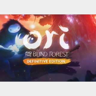 Ori and the Blind Forest - Definitive Edition Steam Key GLOBAL