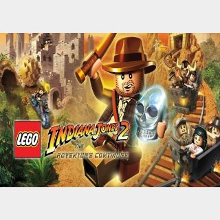LEGO Indiana Jones 2: The Adventure Continues Steam Key GLOBAL