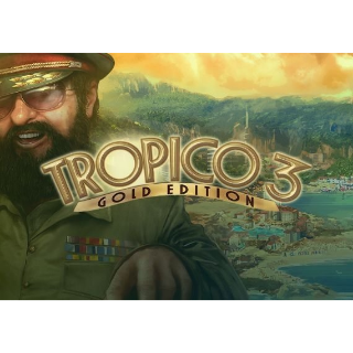 Tropico 3 - Gold Edition Steam Key GLOBAL