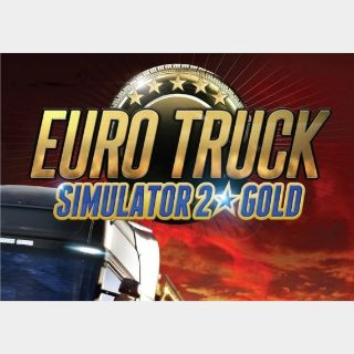 Euro Truck Simulator 2 - Gold Edition Steam Key GLOBAL