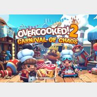 Overcooked! 2: Carnival of Chaos Steam Key GLOBAL