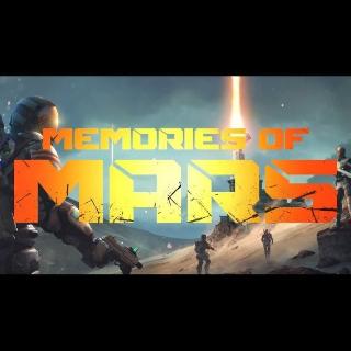 Memories of Mars Steam Key GLOBAL